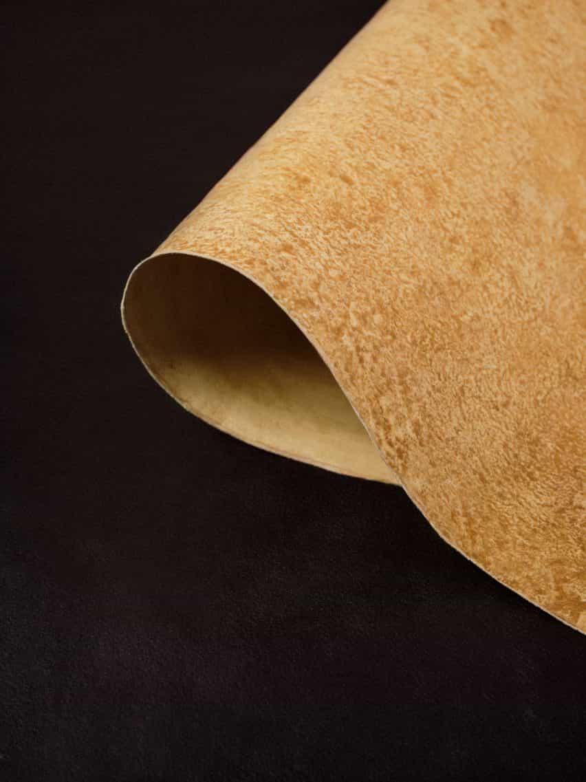 Cuero de micelio de MycoWorks se utiliza en el bolso Hermès Victoria