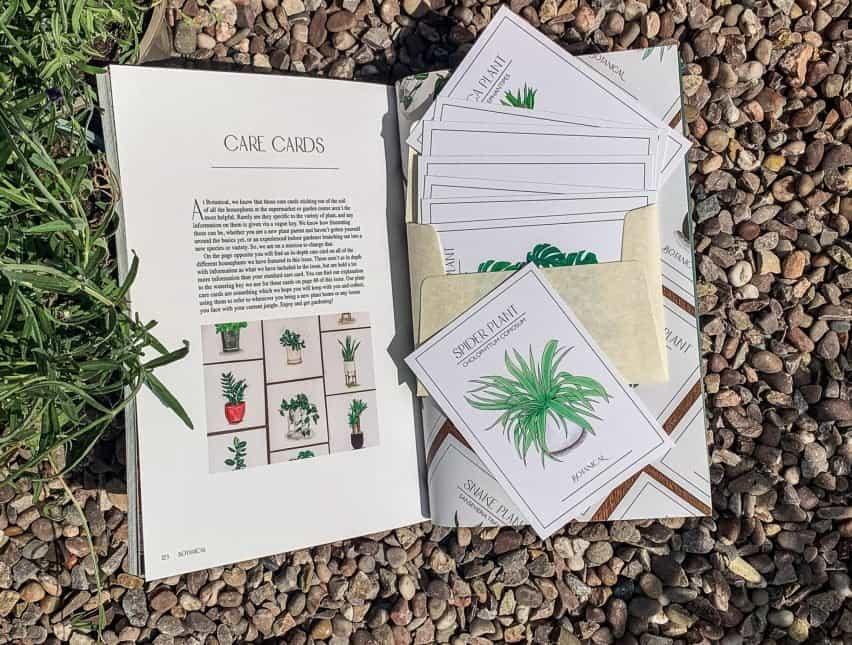 Una revista sobre plantas