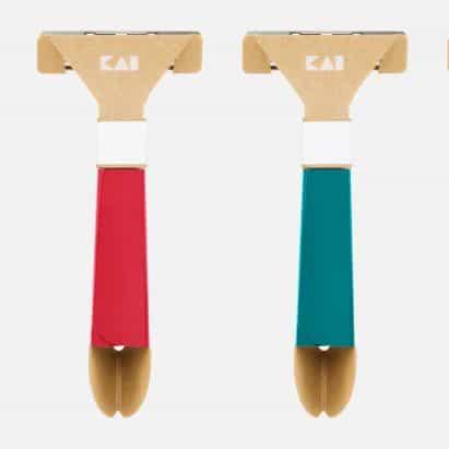 """Kai lanza """"la primera maquinilla de afeitar de papel del mundo"""" informada por el origami"""