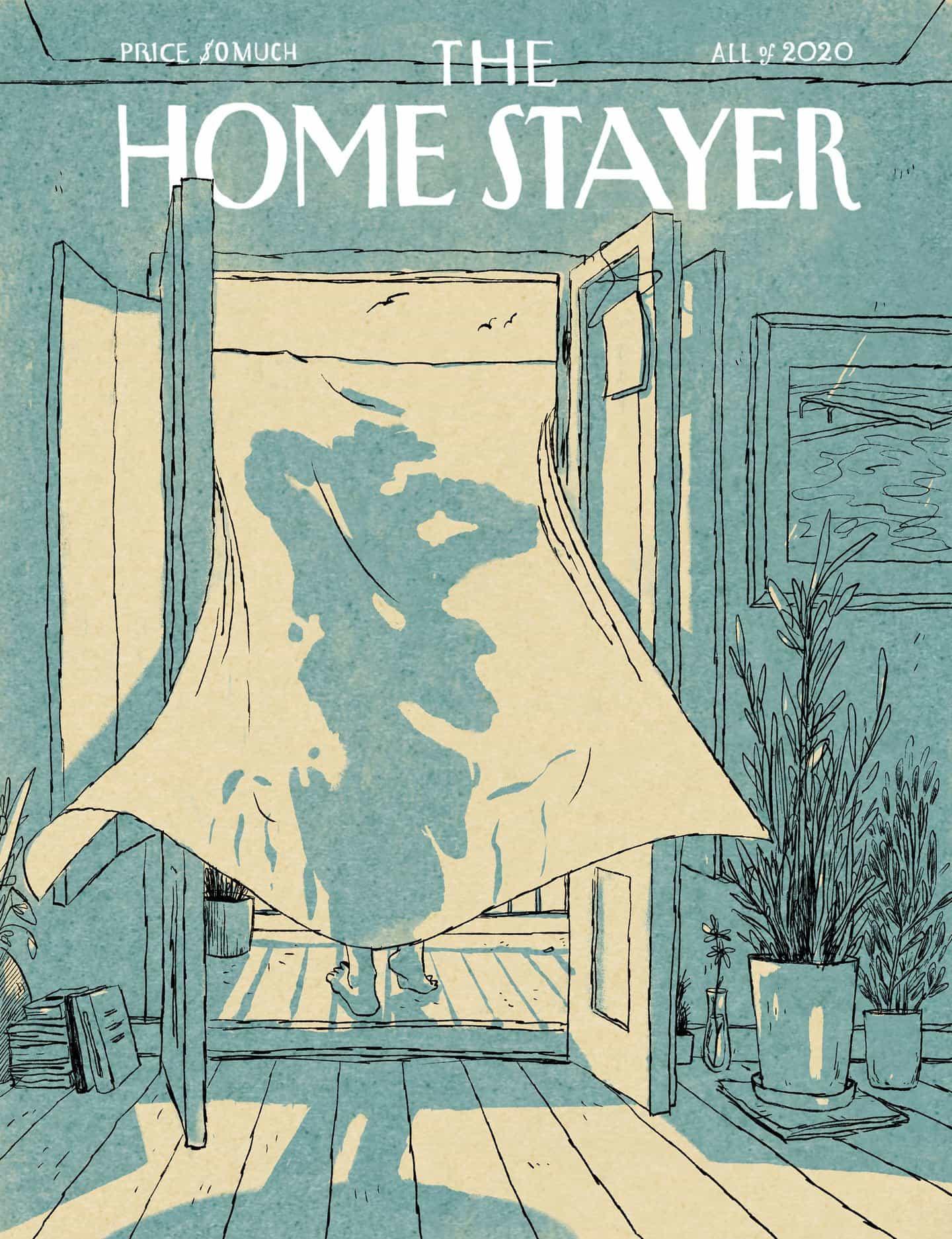Luis Mendo: Homestayer Issue 5: THE SUN SWIMMER (Copyright © Luis Mendo 2020)