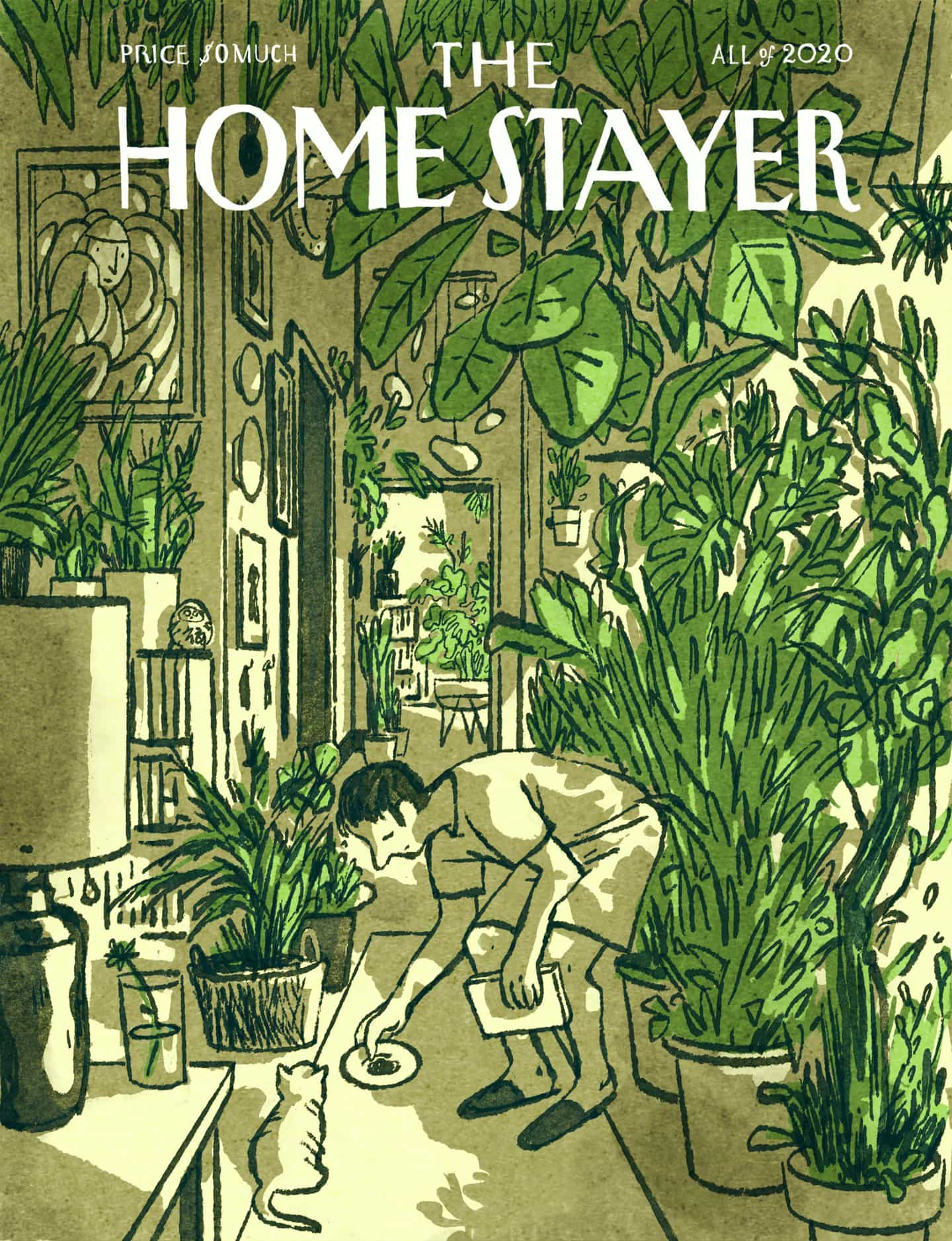 Luis Mendo: Homestayer Issue 3: GROW (Copyright © Luis Mendo 2020)