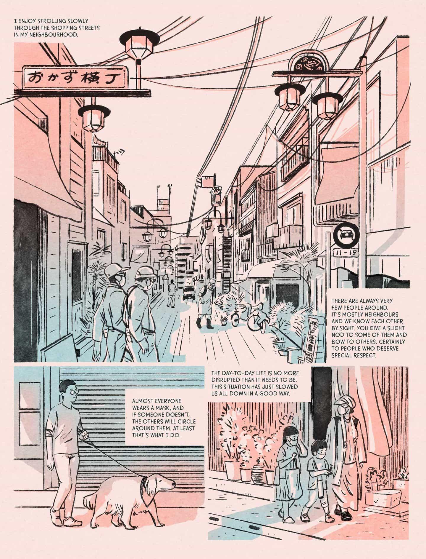 Luis Mendo: Tokyo Pandémico para EL PAÍS. (Copyright © Luis Mendo 2020)