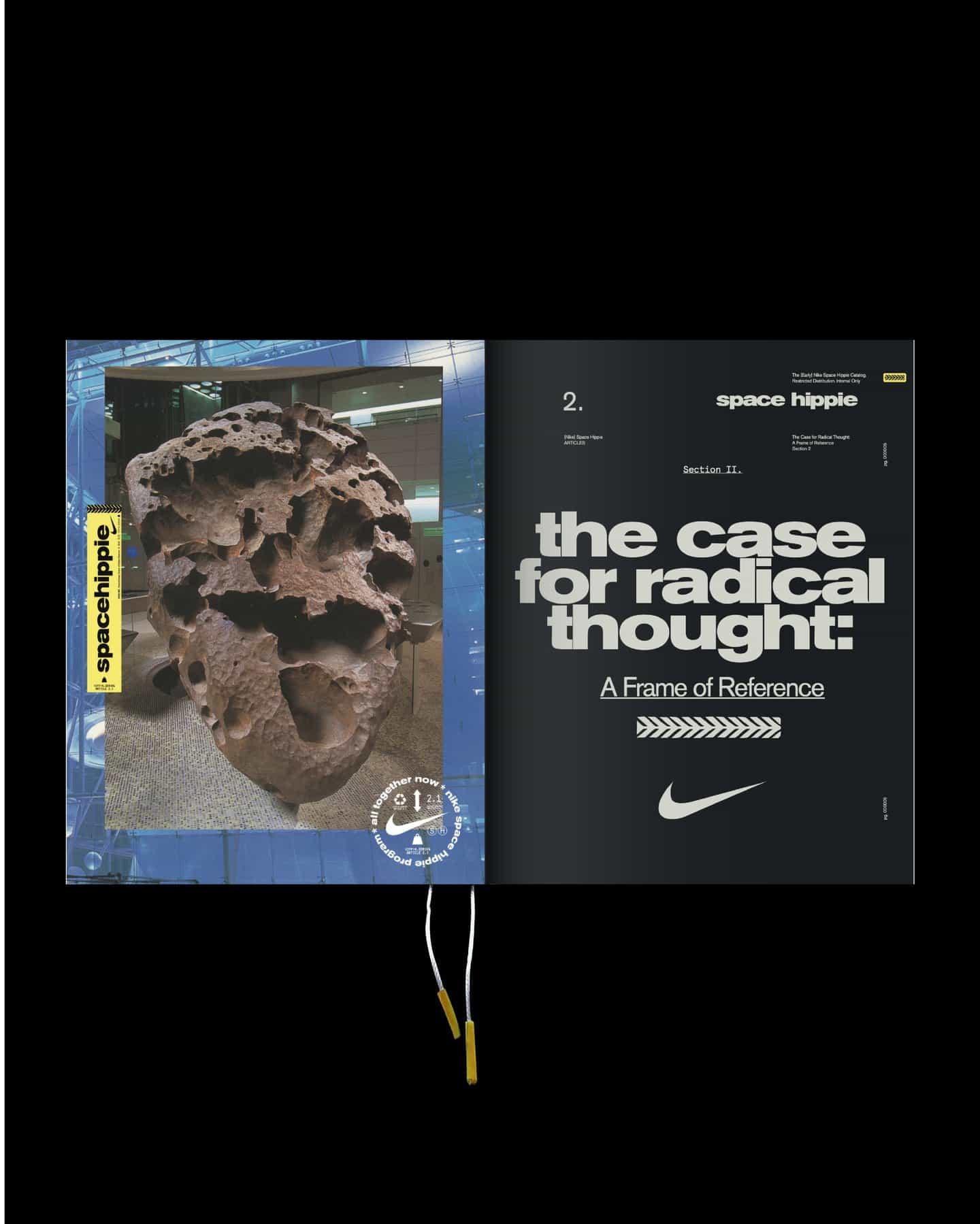 El catálogo de [temprana] Nike espacio Hippie: un manual para New Radicals.