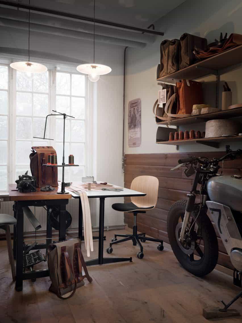 RBM Noor de Flokk silla de oficina con cojín