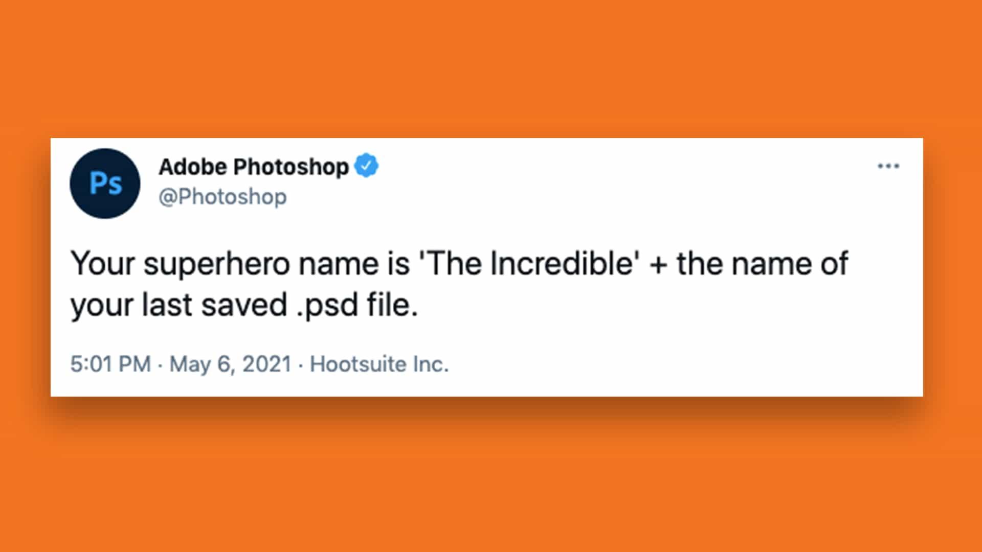 Cómo averiguar el nombre de su superhéroe de Adobe Photoshop
