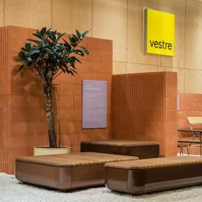 reutilizable soporte Nota El diseño del Estudio de Vestre explica las emisiones de carbono de cada producto