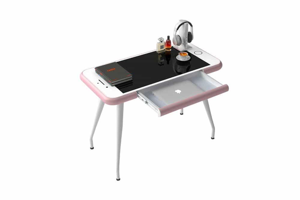 ¿Es este escritorio para iPhone de Apple la pieza más extraña del kit de oficina en casa?