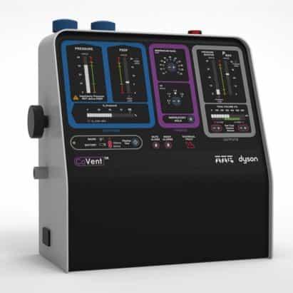 Dyson diseña ventilador en 10 días para el suministro de NHS