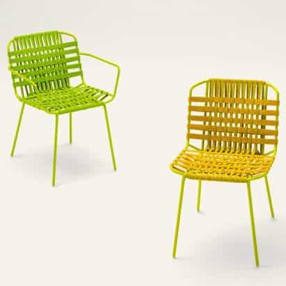 Telar colección de asientos por Paola Lenti