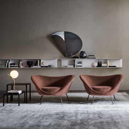D.154.2 sillón de Gio Ponti vía Molteni&C