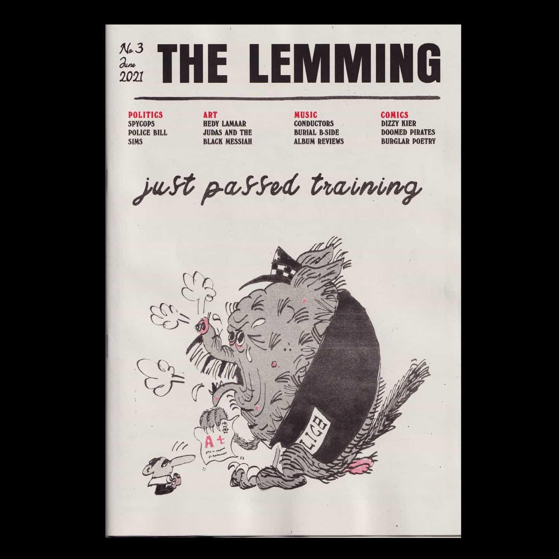 Una publicación de tipo noticioso con un curioso giro: El Lemming y su fiesta de contenidos ilustrativos