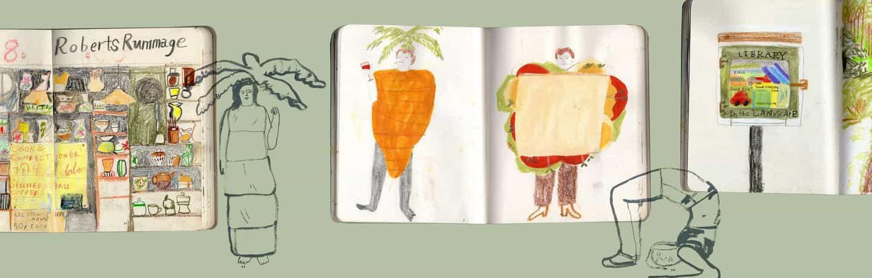 Maisy Summer: Cuaderno de bocetos (Copyright © Maisy Summer, 2021)