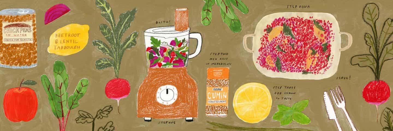 Maisy Summer: receta #lentilswillsavetheworld (Copyright © Maisy Summer y MMU, 2021)
