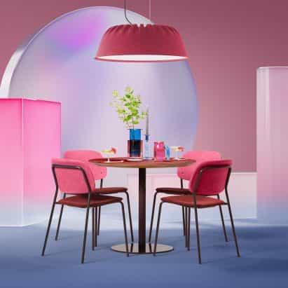 Lámpara acústica Fost PET Felt de De Vorm entre los nuevos productos del Showroom de Dezeen