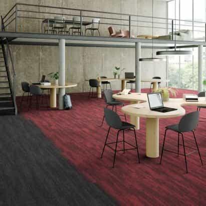 IVC Commercial lanza los tablones para alfombras Clay y Clay Create