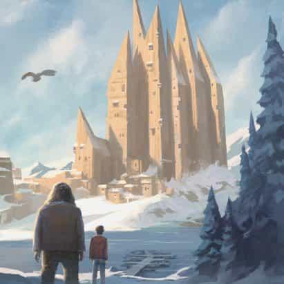 """Michele De Lucchi reinventa las portadas de Harry Potter """"en diálogo con la arquitectura contemporánea"""""""