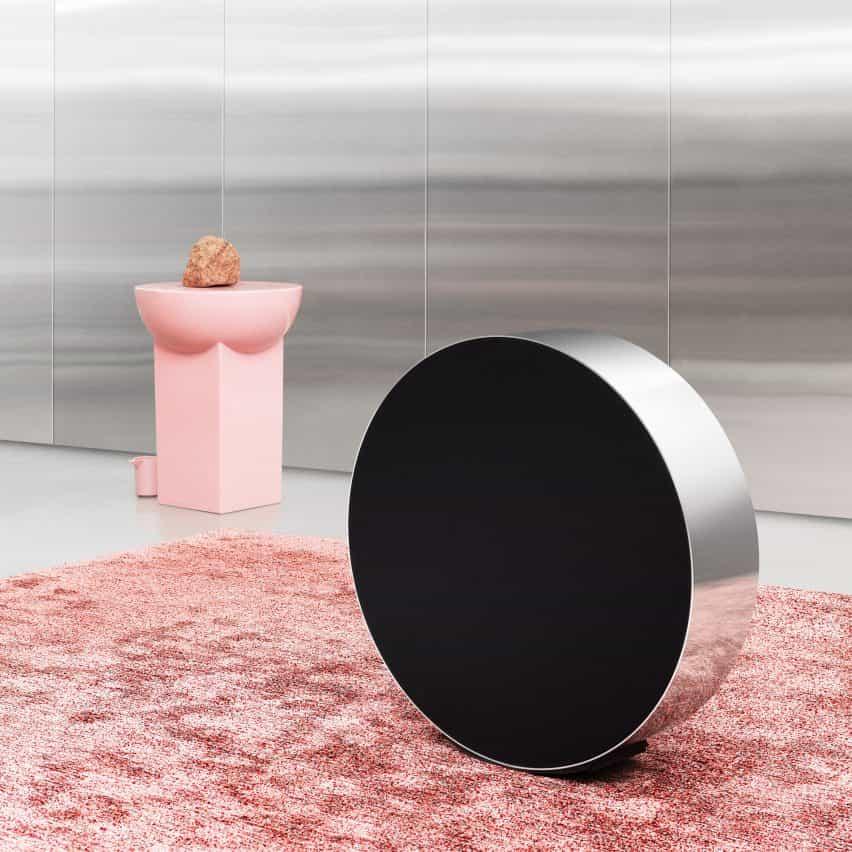 Michael Anastassiades diseños de altavoces Bang & Olufsen se ajusta por laminado
