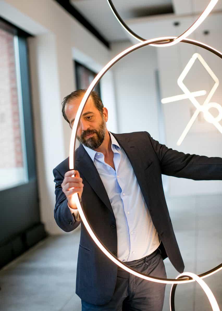 Michael Anastassiades y sus arreglos luces para Flos