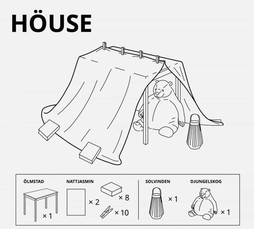 IKEA Rusia diseña para los niños fuertes en el bloqueo