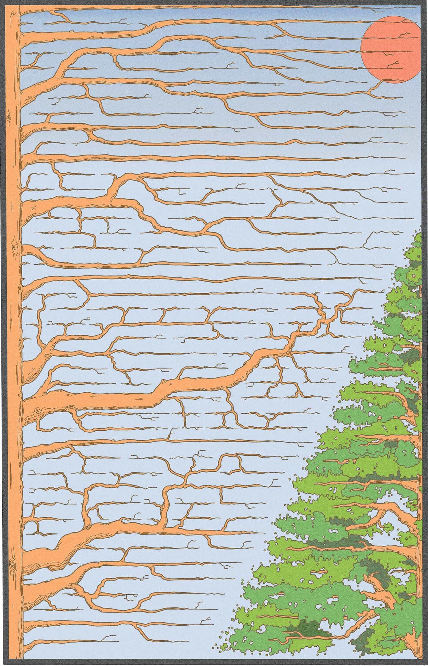 Kyle Ellingson: Ellingson's Dreams: Trees (Copyright © Kyle Ellingson, 2021)