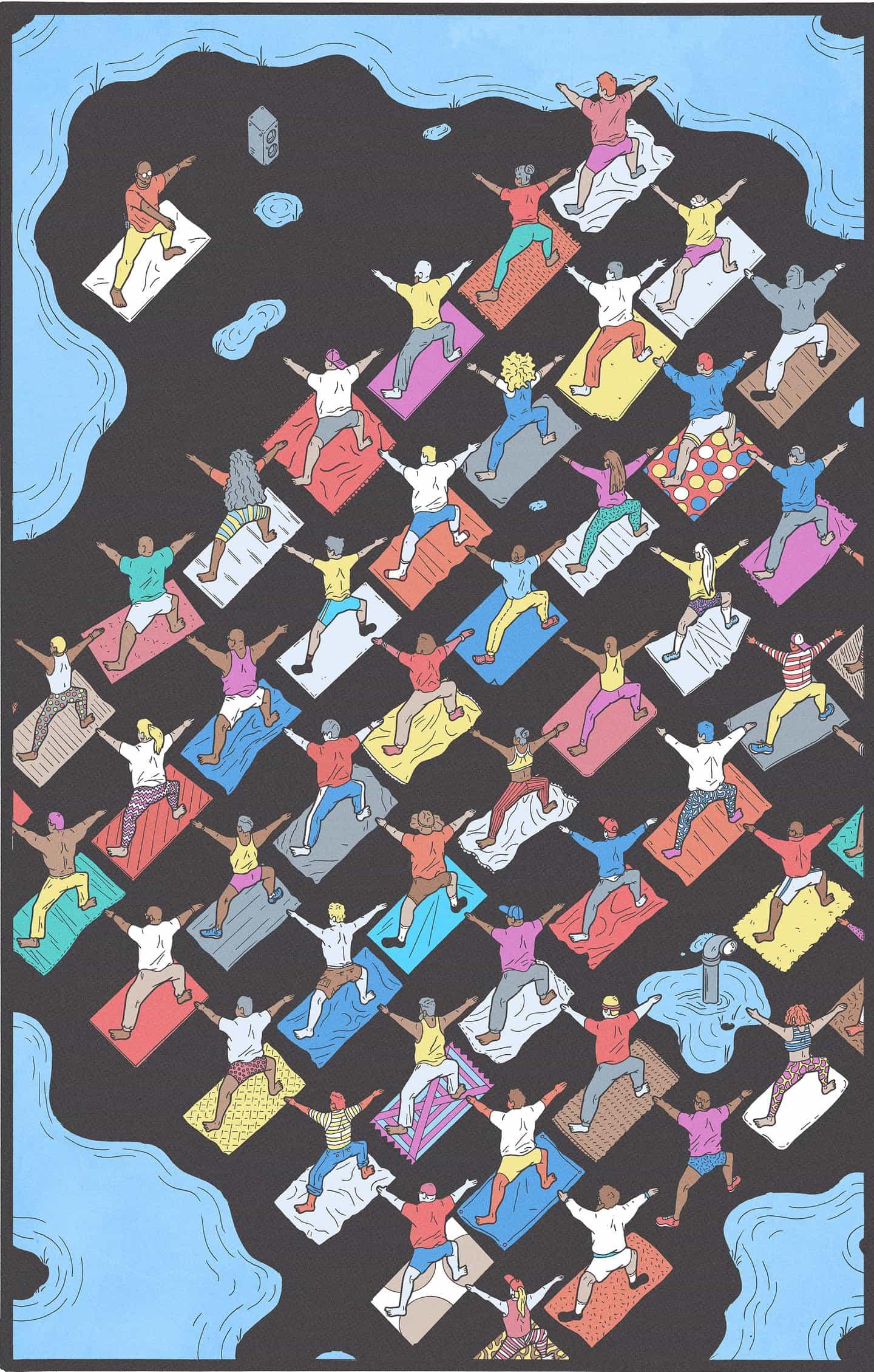 Kyle Ellingson: Los sueños de Ellingson: Yoga (Copyright © Kyle Ellingson, 2021)