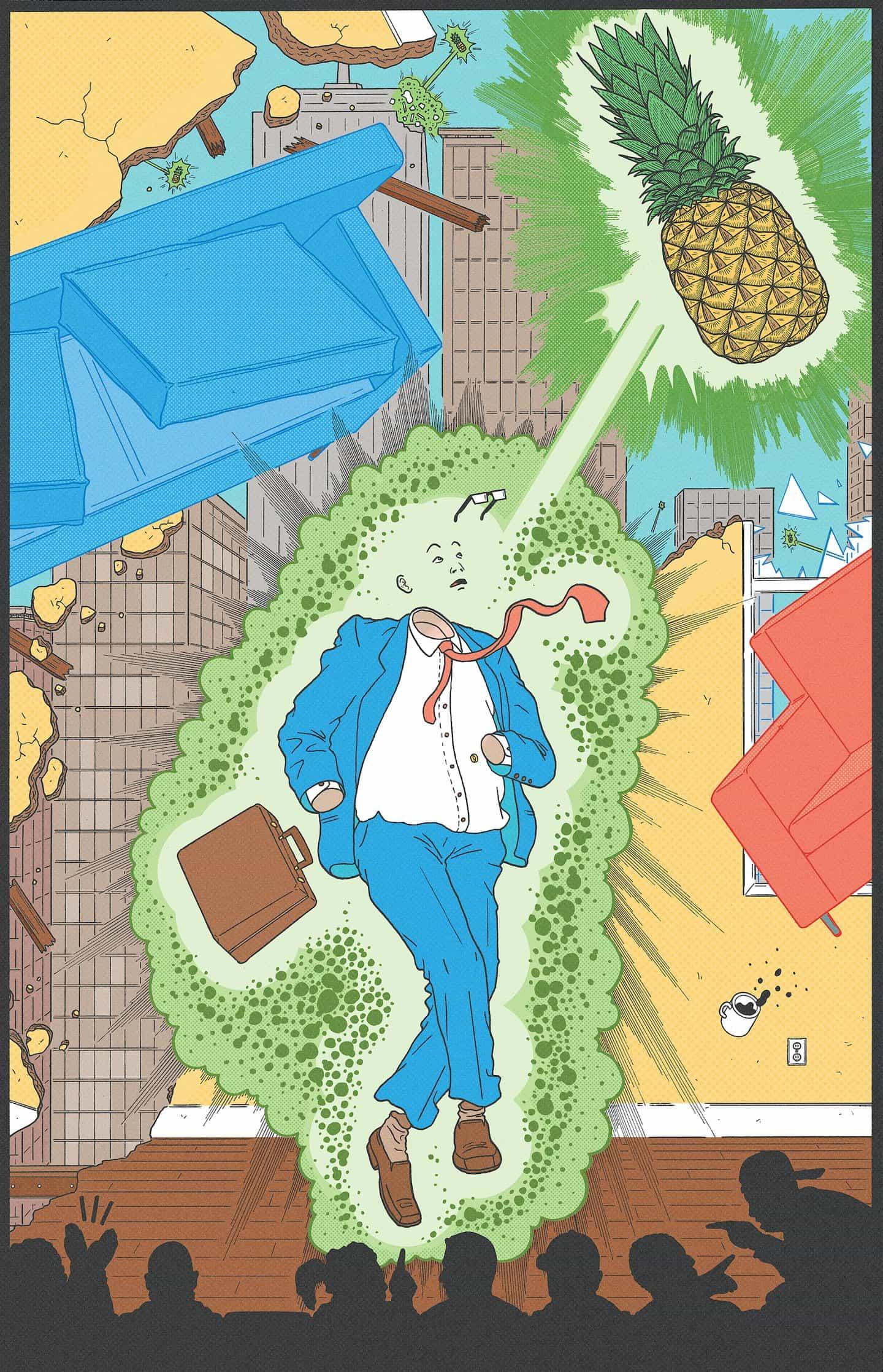 Kyle Ellingson: Ellingson's Dreams: Vol 1, Pineapple (Copyright © Kyle Ellingson, 2021)