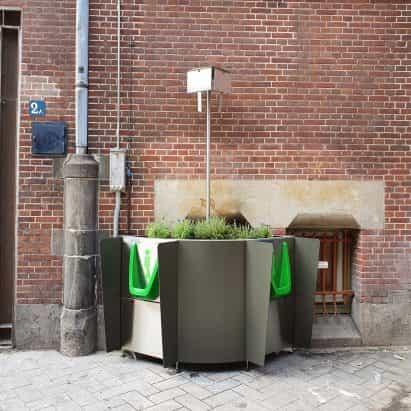 """GreenPee instala urinarios de cáñamo en Amsterdam hasta la parada """"pis salvaje"""""""