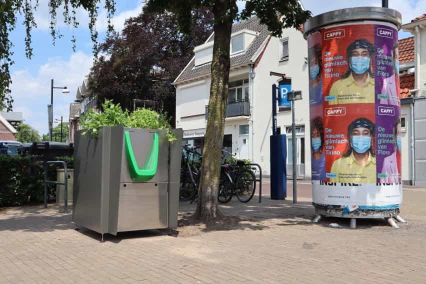 GreenPee sostenible urinario plantador