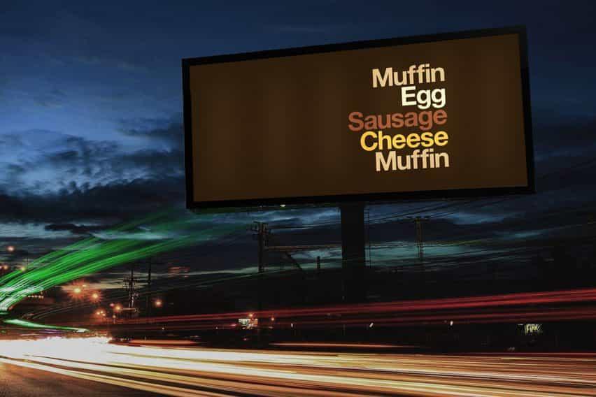 nuevos anuncios de McDonald del compartimento a cabo su nombre de marca para las listas de ingredientes