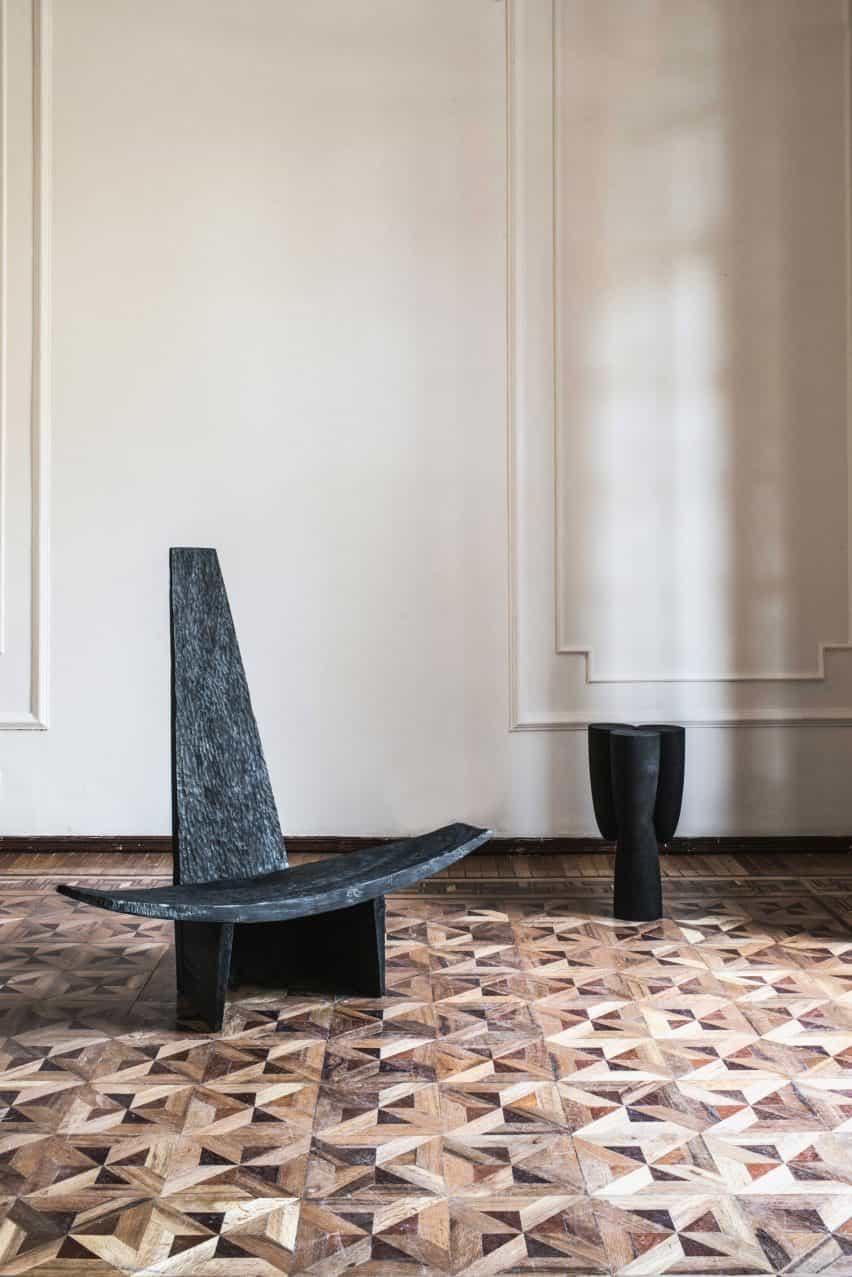 La silla Partera en la exposición de Provenanced trnK