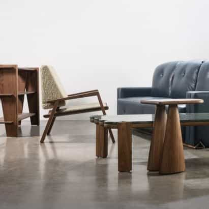 Formas de la colección de muebles para el hogar de Levi Christiansen