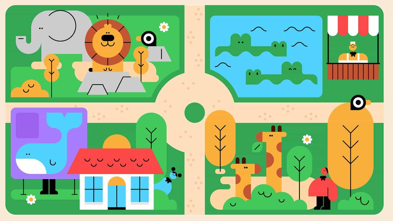 Estudio joven: #TheGreatIndoors guían ilustraciones para Scouts
