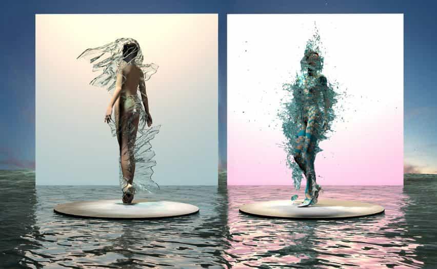 Scarlett Yang crea el vestido de biomateriales que se pueden descomponer en horas