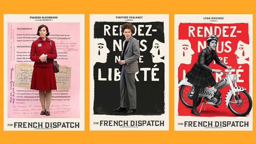 NECESITAMOS estos carteles para The French Dispatch