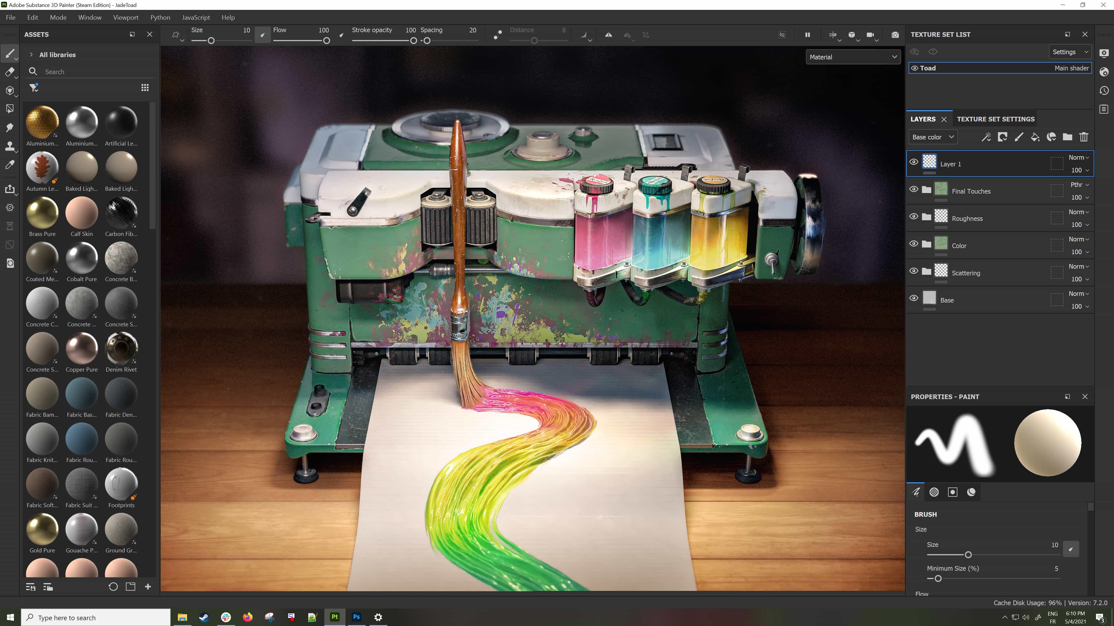 La nueva sustancia de Adobe ya está a la venta