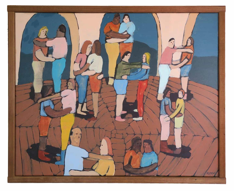 """""""Quiero que la gente se sienta bien por estar vivo"""": obras de Rob Wilson musgo son alegría absoluta"""