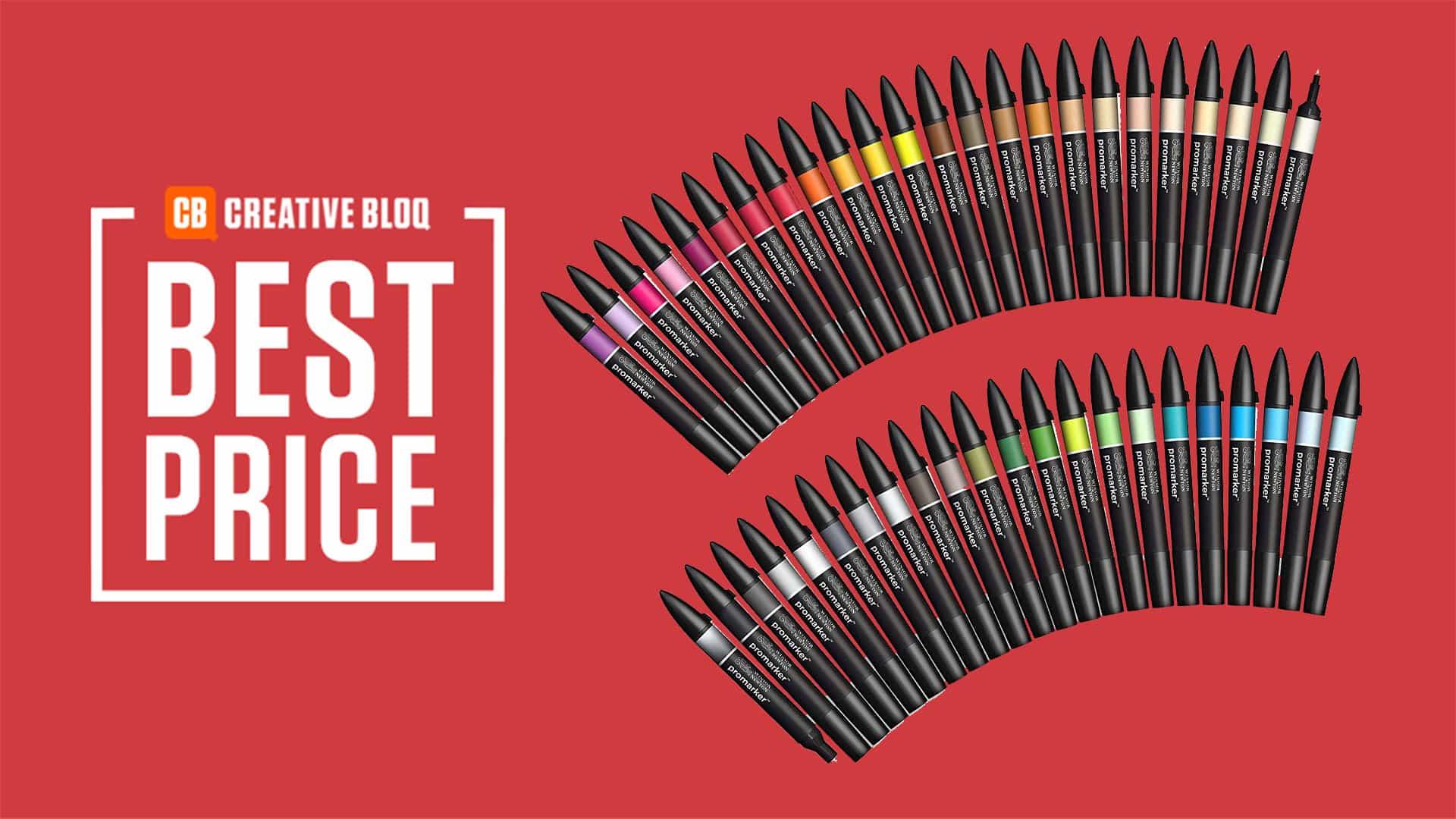 Top Black Friday Deal: Winsor & Newton Pro Marker ¡Conjunto ahora a mitad de precio!