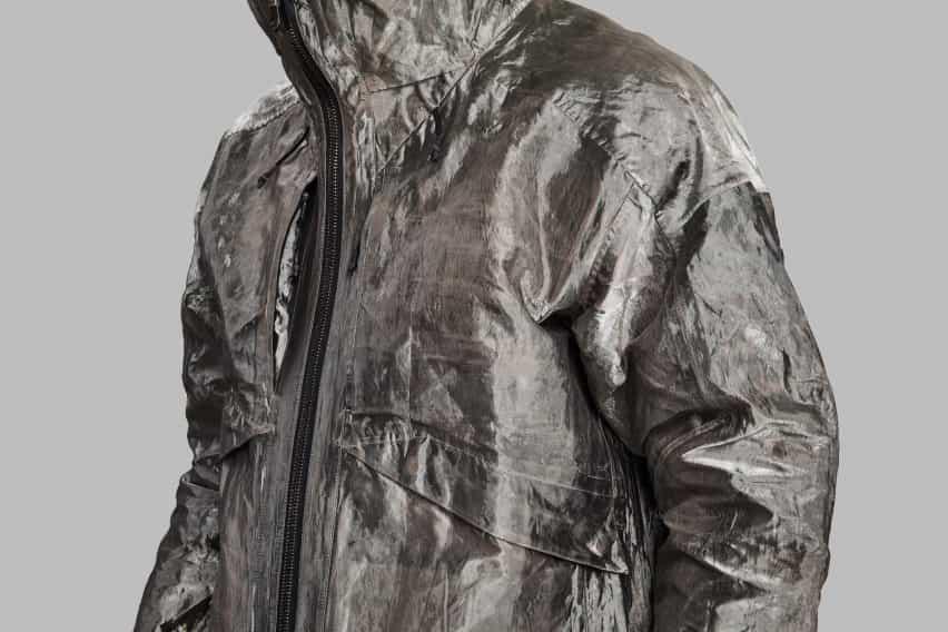 Full Metal Jacket hecho de cobre por Vollebak