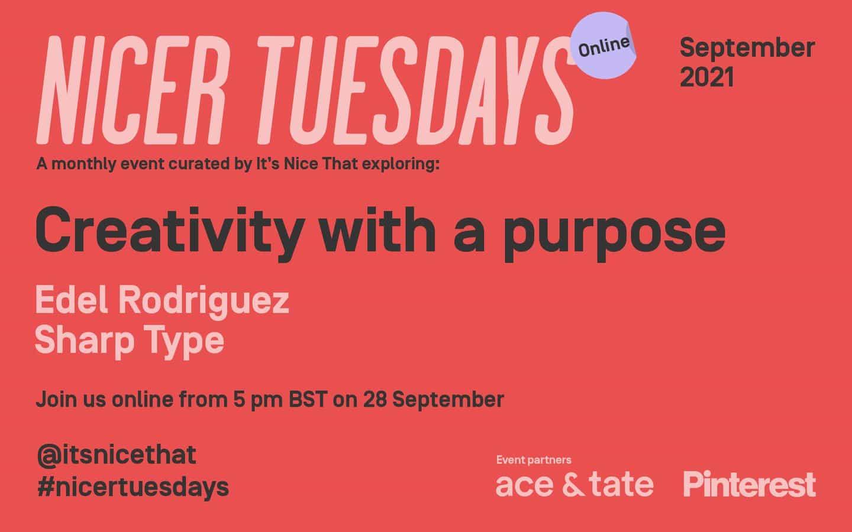 Edel Rodriguez y Sharp Type: ¡Los boletos ya están disponibles para los mejores martes en línea de septiembre!