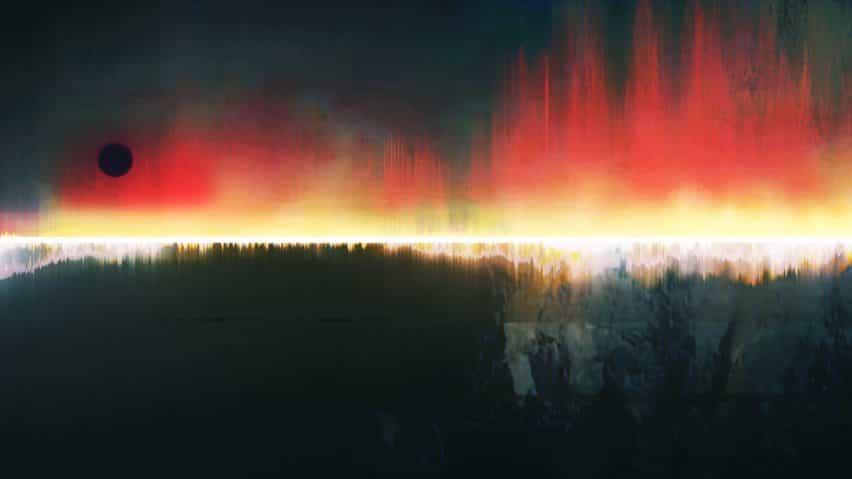 Es Devlin crea ilustraciones digitales I Saw The World End hasta la marca de 75 años desde la bomba de Hiroshima