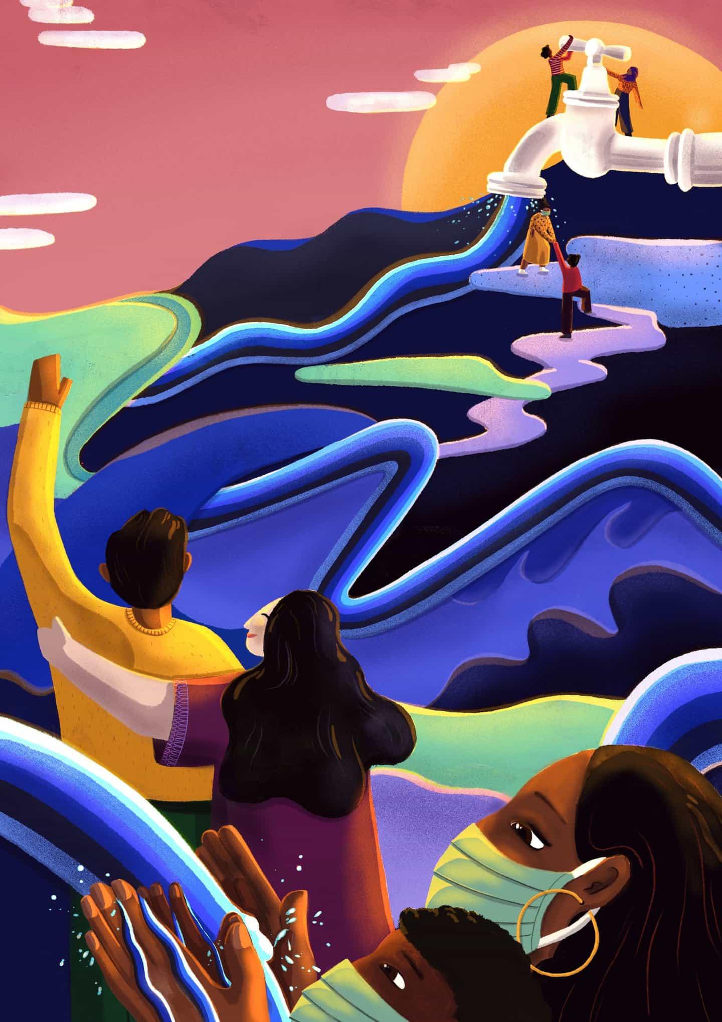 Grayson Perry, Jean Jullien y Aida Muluneh seleccionar Arte WaterAid del cambio finalistas