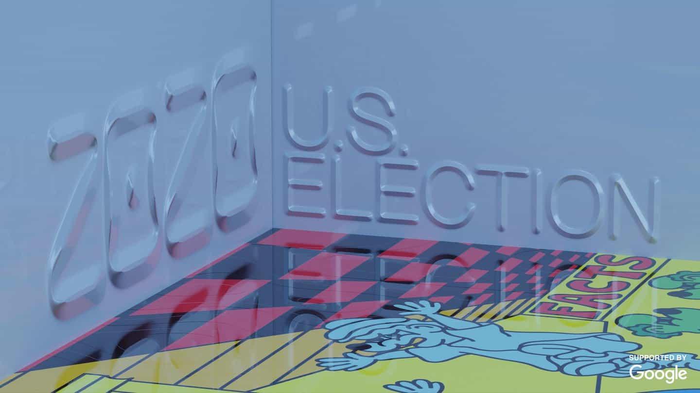 artistas cómicos representan sus esperanzas y sus predicciones para las elecciones de Estados Unidos de 2020