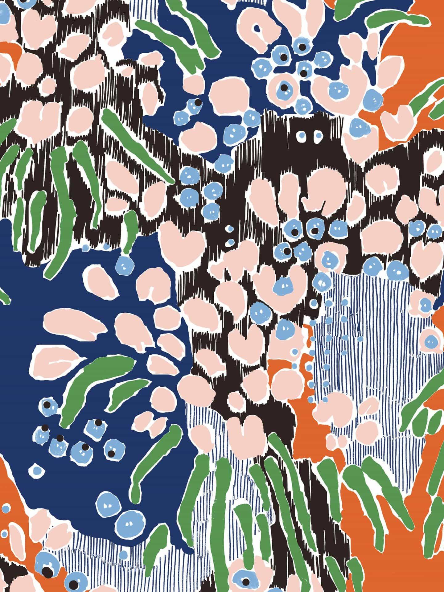 Katy Welsh: Underwater Floral (Copyright © Katy Welsh, 2021)