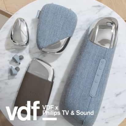 """gama de audio portátil Philips TV y sonido de Georg Jensen """"realza on-the-go experiencia"""""""