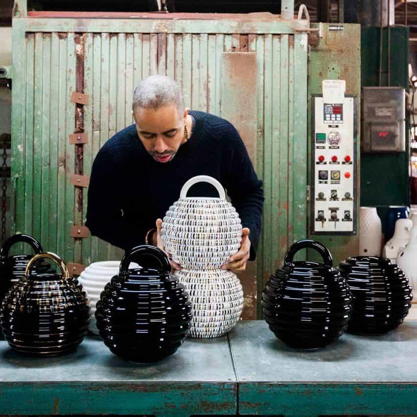 cerámicas Grasso por Stephen Burks para BD Barcelona