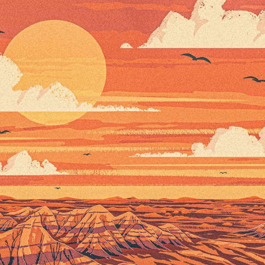 Dribbble Spotlight — Ilustraciones de Isaac LeFever
