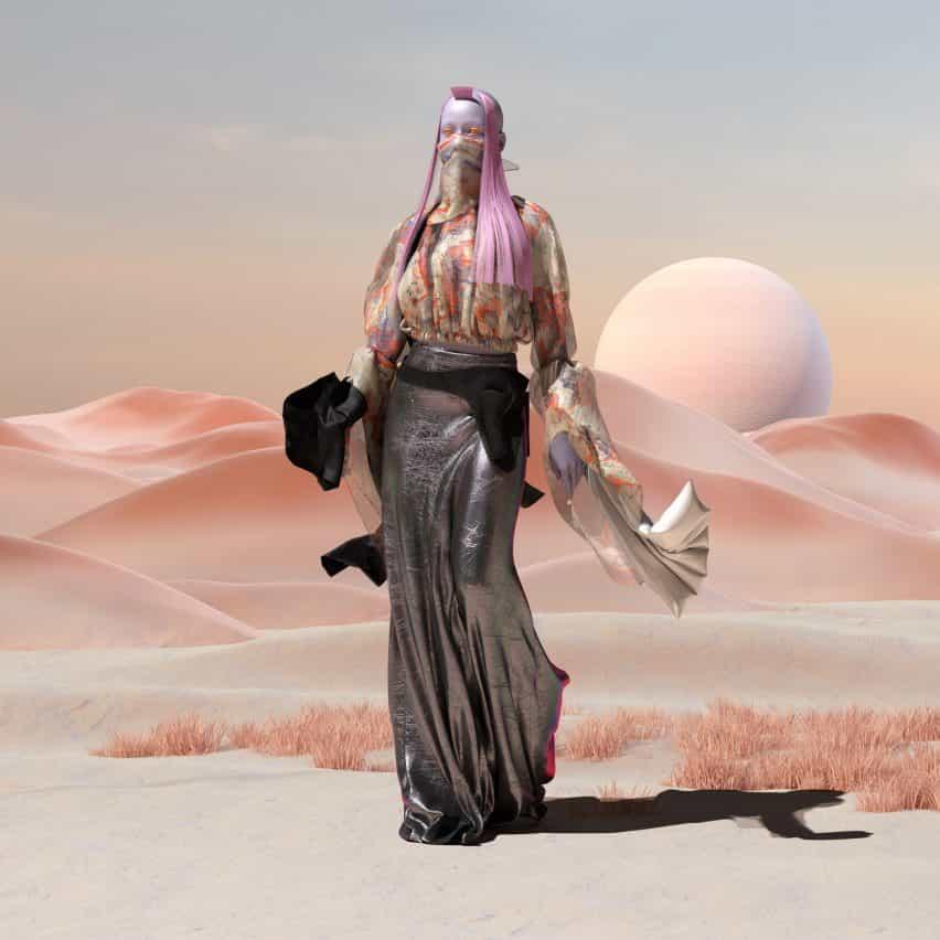 Vestido virtual de The Fabricant