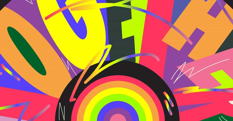"""En respuesta a la crisis, los creativos siete dibujan un arco iris para significar """"esta tormenta pasará"""""""