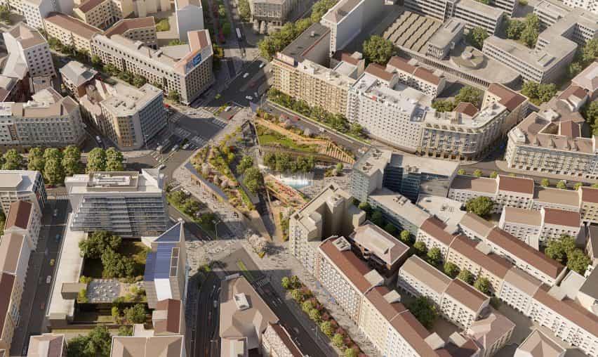 El Piazzale Loreto fue diseñado por ceetrus