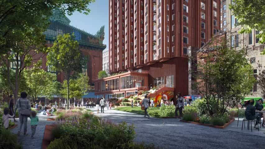 Reinventing Cities incluyó una entrada de la pandilla studio